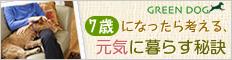 GREEN DOG【シニア犬の健康特集】