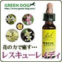 GREEN DOG:レスキューレメディ