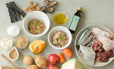 新鮮なお肉・お魚・野菜などの厳選素材を使っています。
