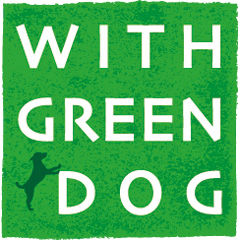 WITH GREEN DOG
