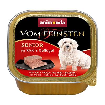 フォムファインステン缶 シニア(シニア犬用) 牛肉・豚肉・鳥肉