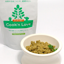 Cook'n love (クックンラブ) 犬用アダルト いわし