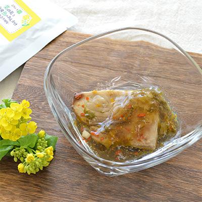 菜の花と白身魚のあんかけ