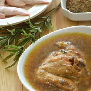 鶏手羽のハーブ煮