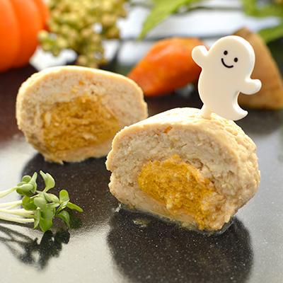 かぼちゃハンバーグ